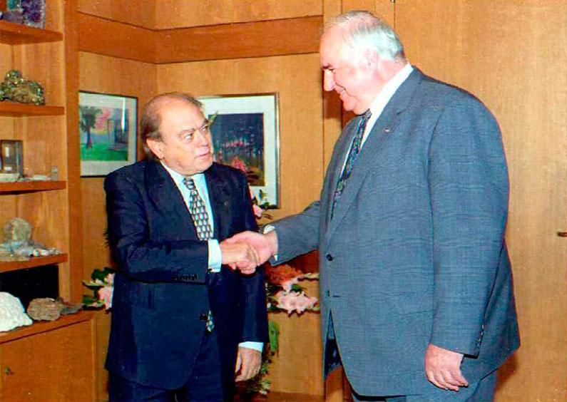 Helmut Kohl i Petersberg